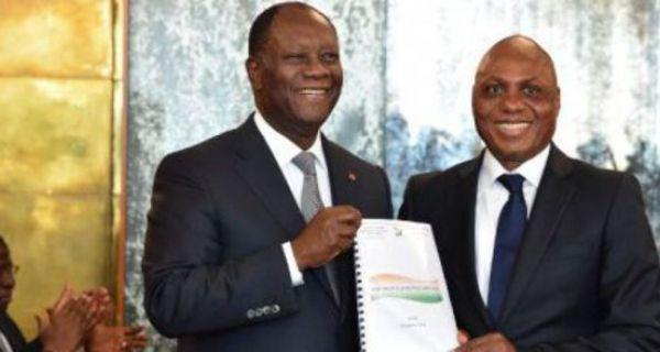3ème mandat : Le Prof Ouraga Obou (rédacteur de la Constitution) désavoue  Ouattara, ce qu'il avait dit le 8 novembre 2016 | Ivoirebusiness.net