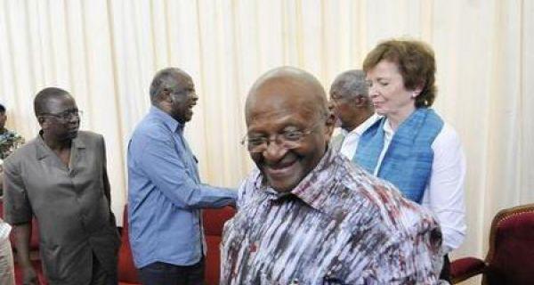 """Résultat de recherche d'images pour """"Elders venus rencontrer laurent Gbagbo à Korhogo"""""""