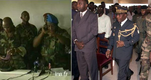C te d 39 ivoire le colonel moassi grena ex ministre de l for Ministre interieur 2000