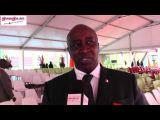 Après sa décoration au grade d`officier dans l`ordre national, Aly Touré se dit heureux