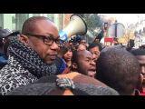 MARCHE La manifestation contre l'esclavage en Libye TOUT LES AFRICAINS DE PARTOUT PRÉSENT