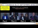 Gbagbo et Blé Goudé: Toutes LES VIDÉOS du 21 Septembre 2016