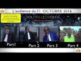 Gbagbo et Blé Goudé: Toutes LES VIDÉOS du 21 Octobre 2016