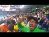 Jeux Olympiques: Ambiance entre supporters ivoiriens et brésiliens après le sacre de Cissé Cheick