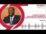 Alassane Ouattara sur RFI   «Pas question d'empêcher la candidature de qui que ce soit»